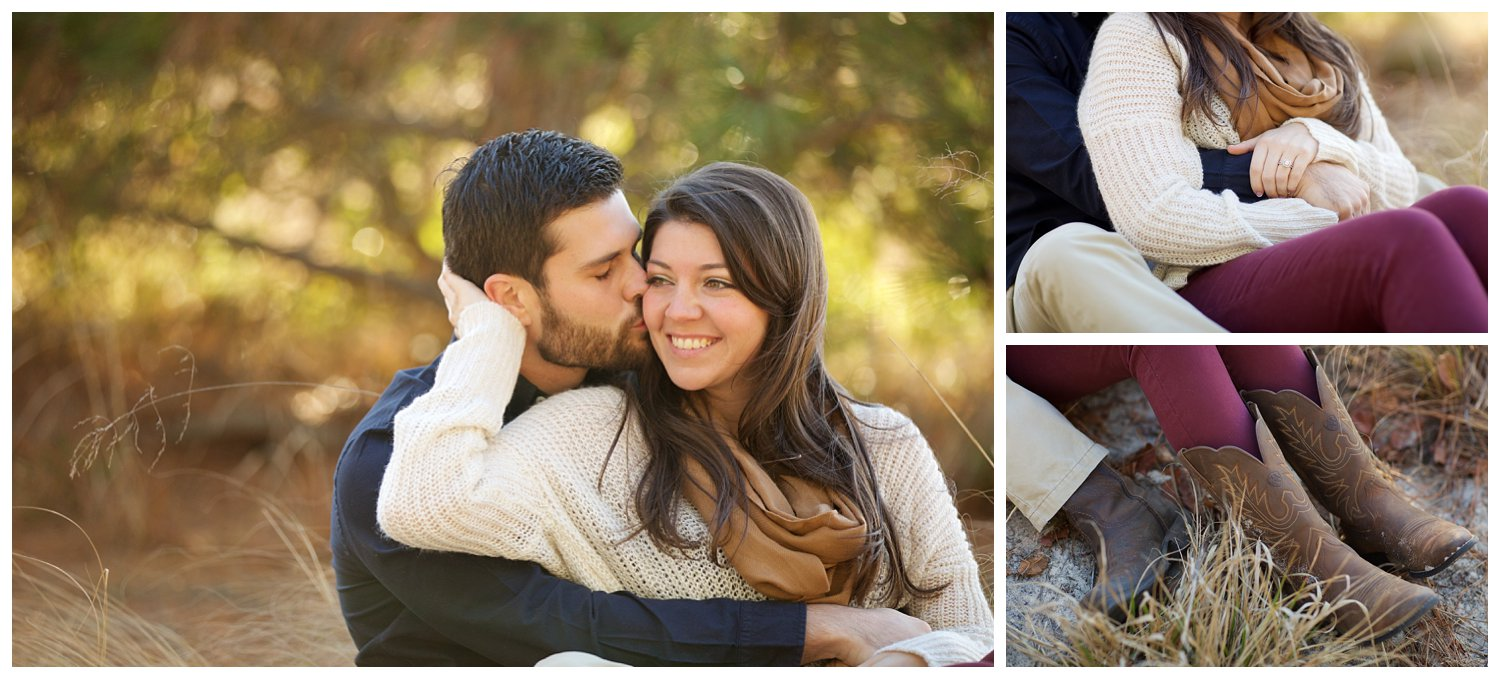 virginia beach first landing state park engagement session