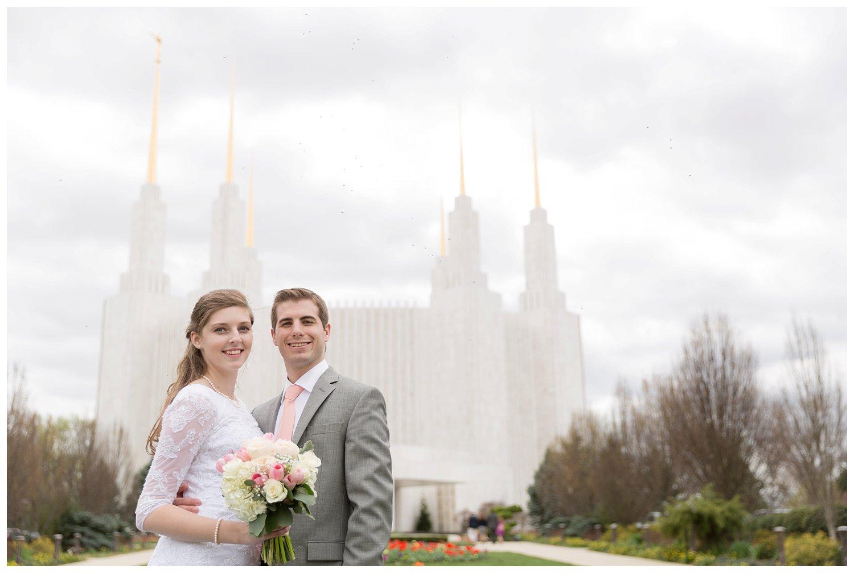 Washington DC LDS Temple Wedding