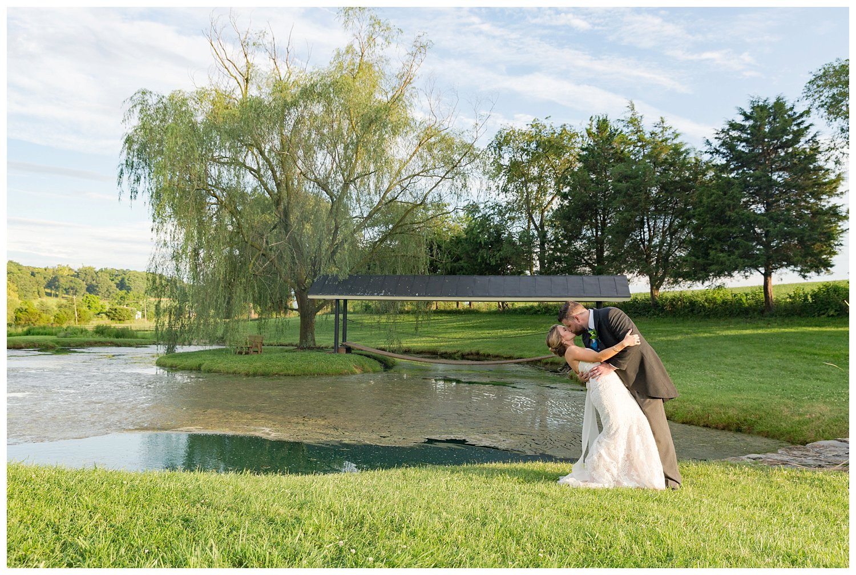 the barn at mill creek virginia wedding