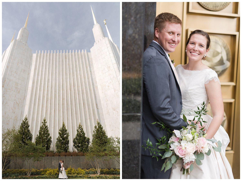 washington dc temple lds mormon wedding photography