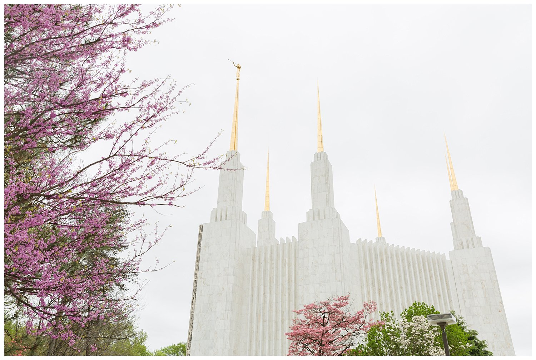 washington dc lds mormon spring wedding photography