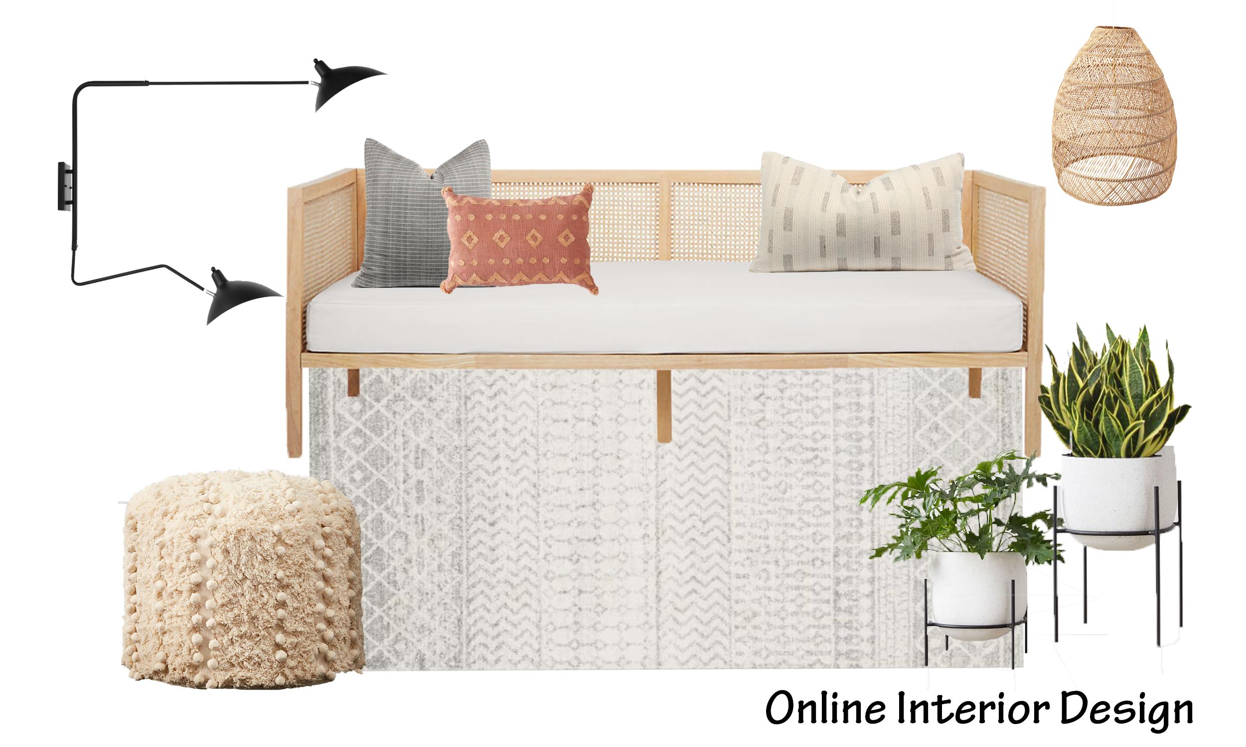 Boho Living Room Design