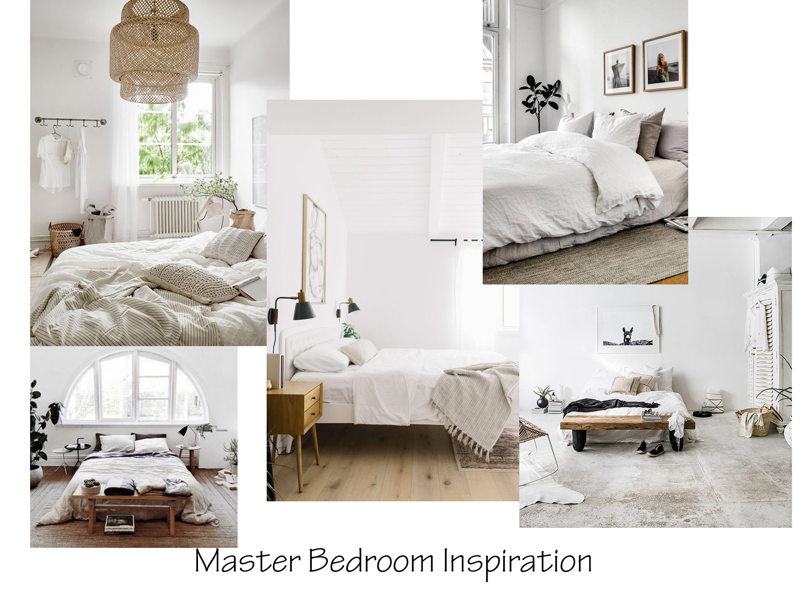 Light And Airy Master Bedroom Inspiration