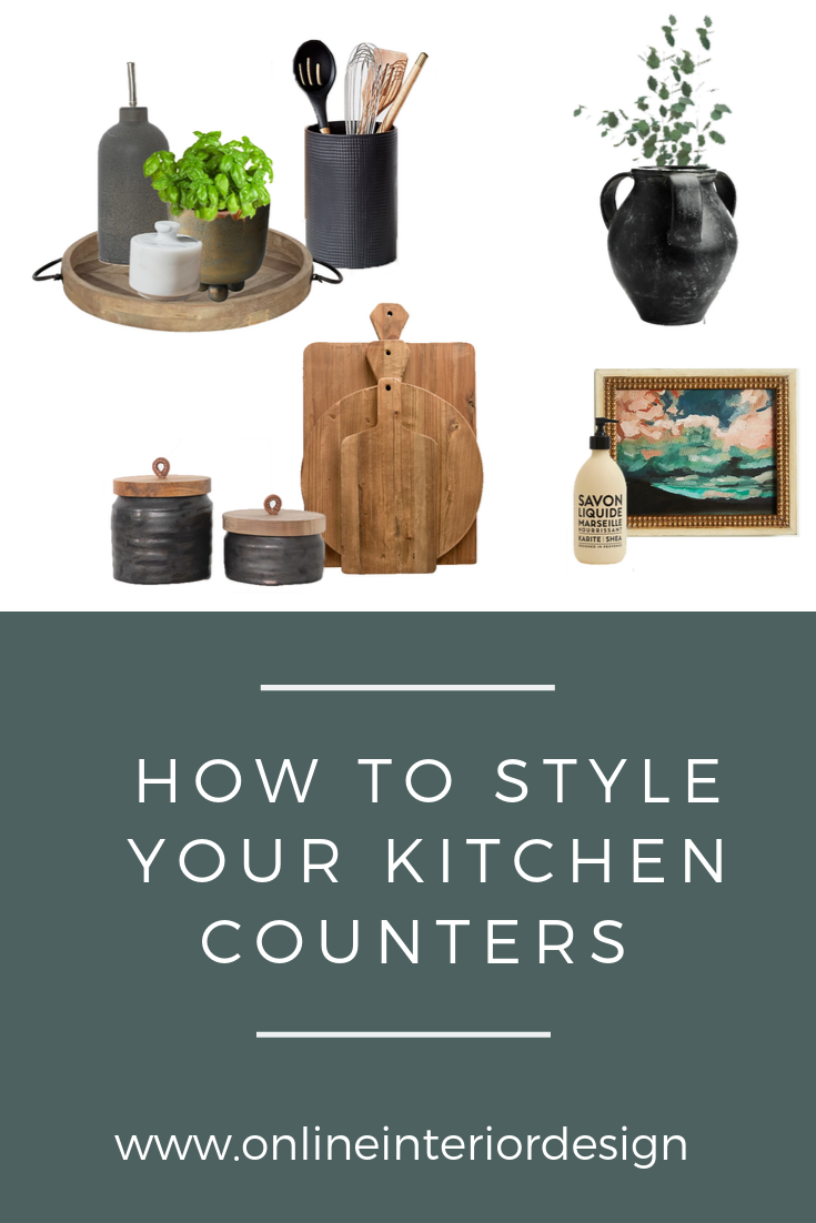 How To Style Kitchen Countertops
