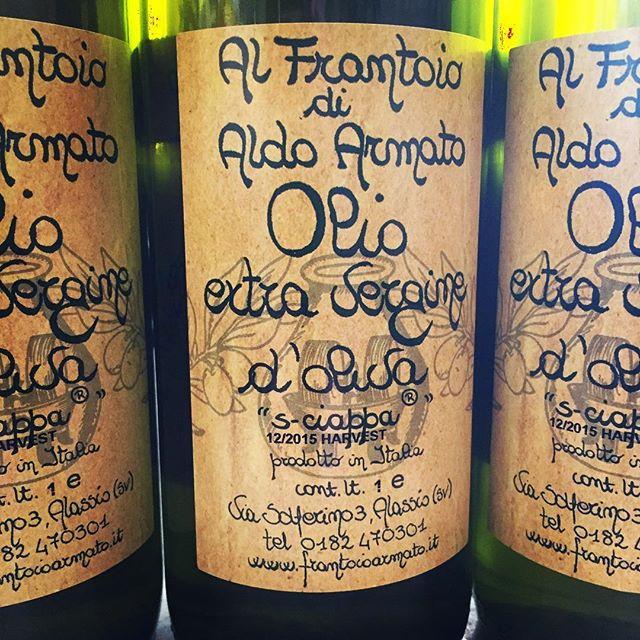 Aldo Armato 'S-ciappa'.. . . #aldoarmato #frantoioaldoarmato #oliodoliva #oliveoil #liguria #rosenthalwinemerchant