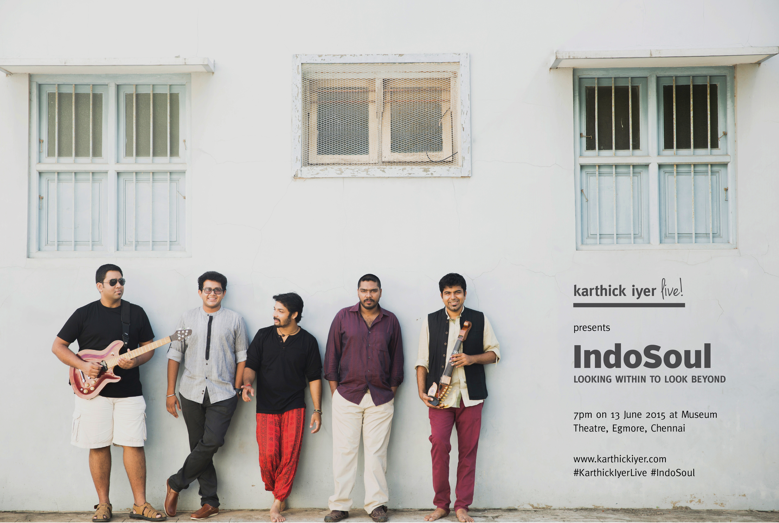 Karthick Iyer Launching IndoSoul 1st Music Album