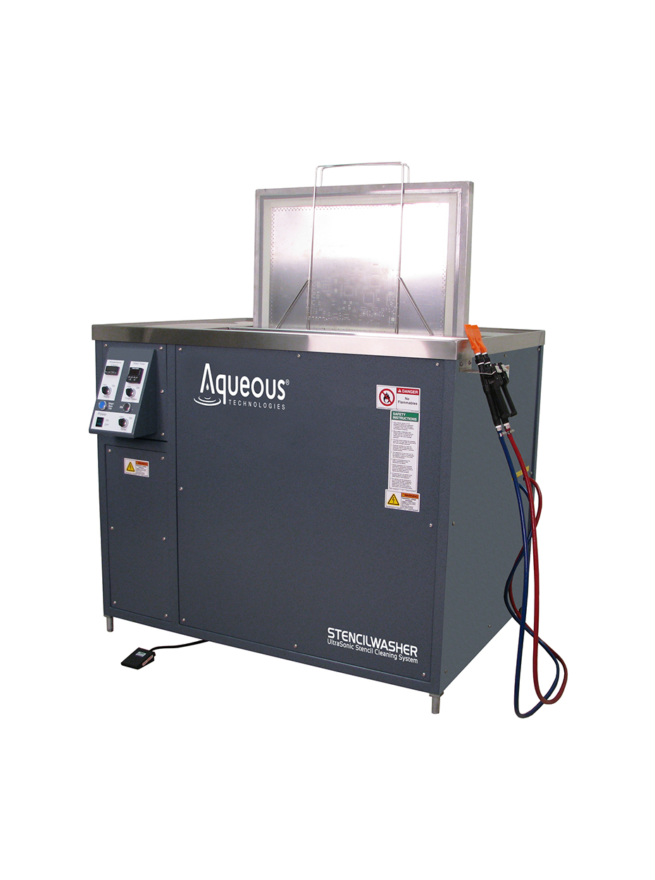 StencilWasher Ultrasonic Stencil Cleaning Systems