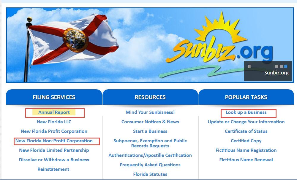 Florida Division of Corporation
