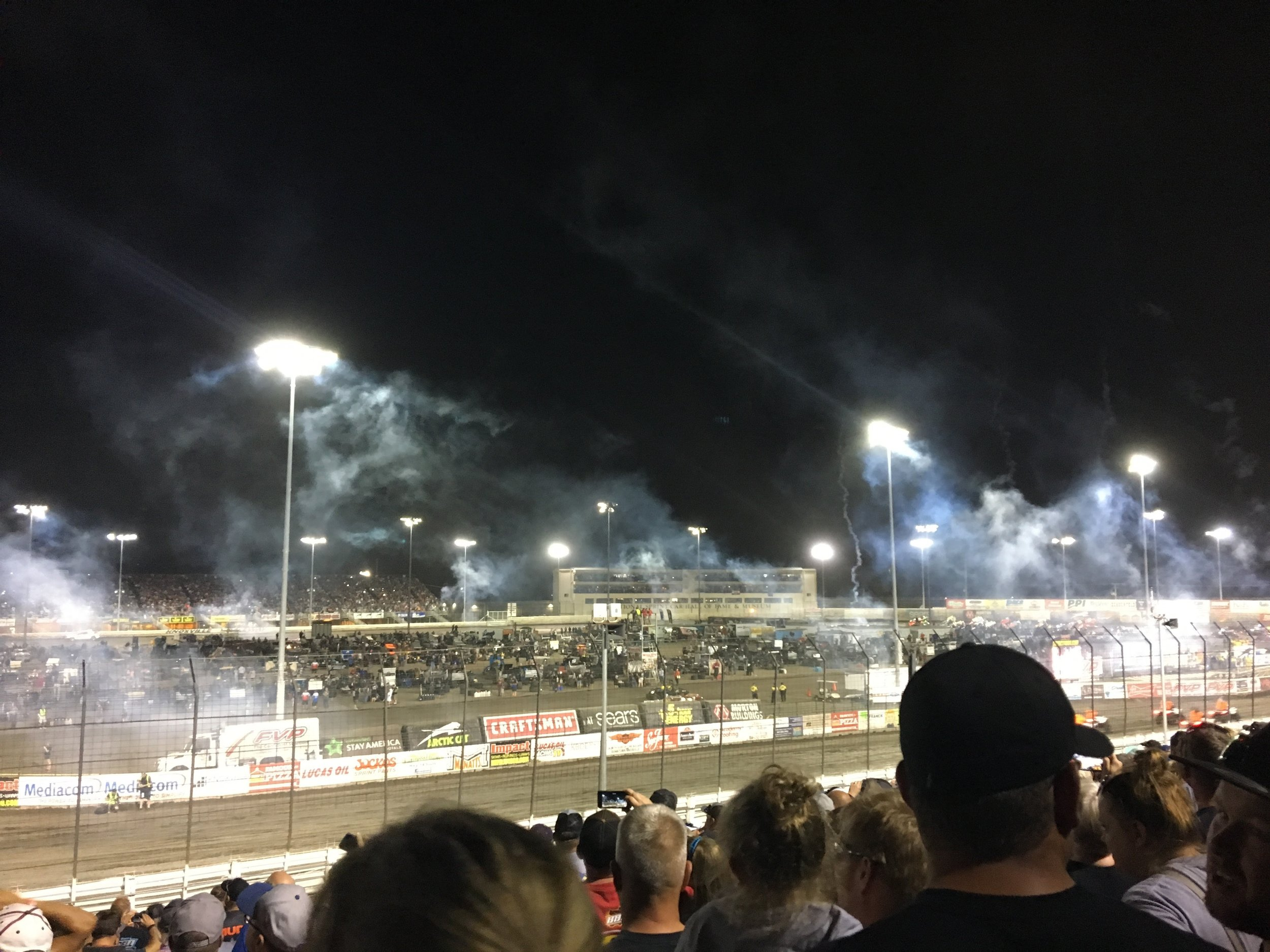 Gotta love Knoxville... Let's be honest, while my fam is watching the races I'm probably just sitting there looking for more look-a-likes, and it's very entertaining. ;) -