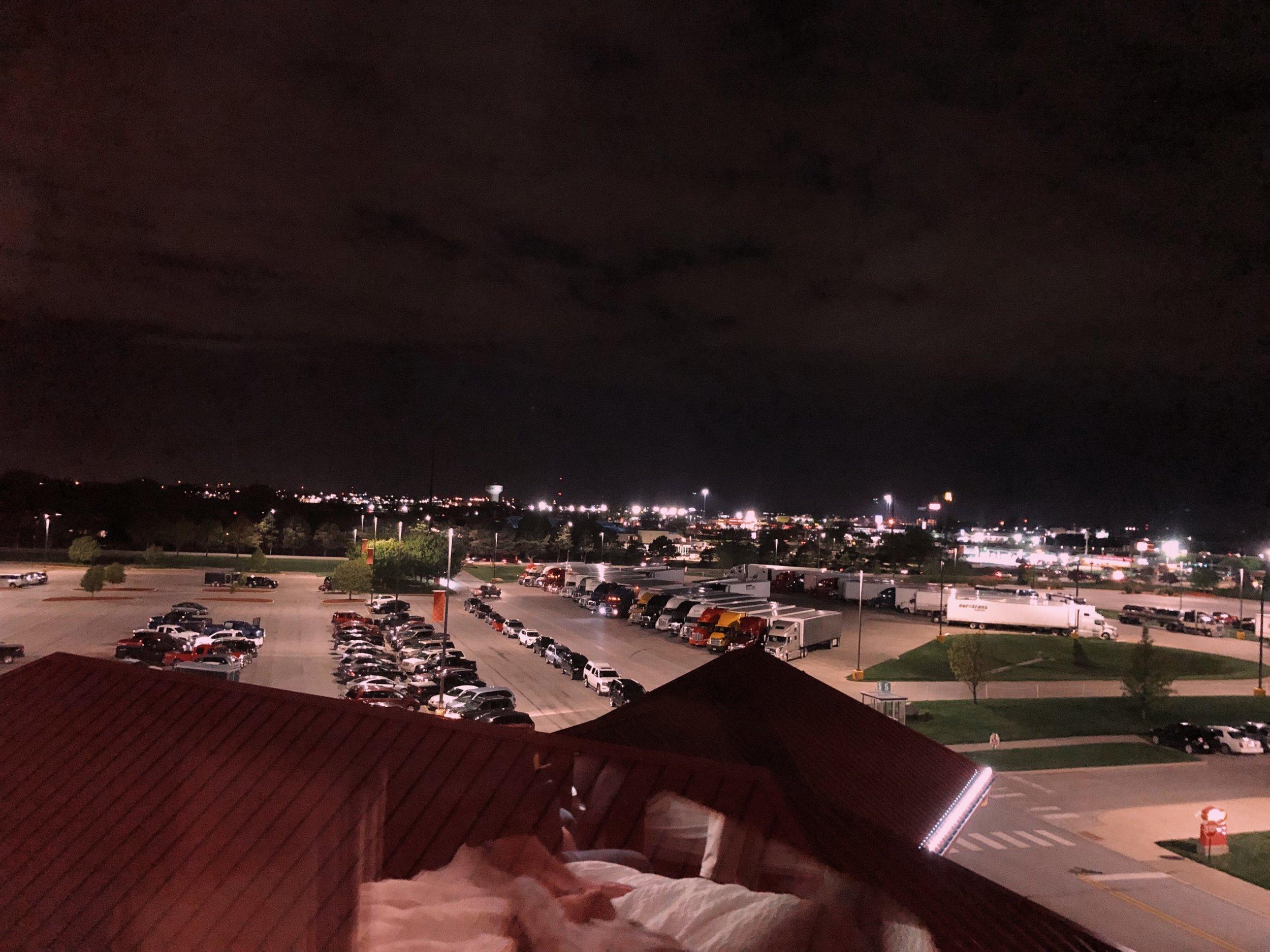 Gotta love that view! -