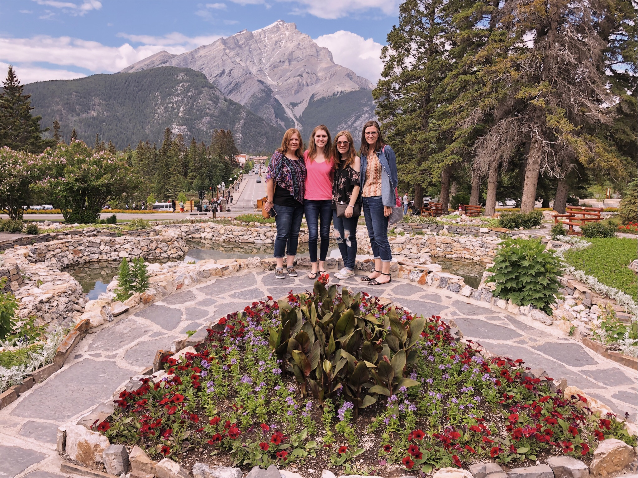 girls-banff-cascade-of-time-garden.jpg