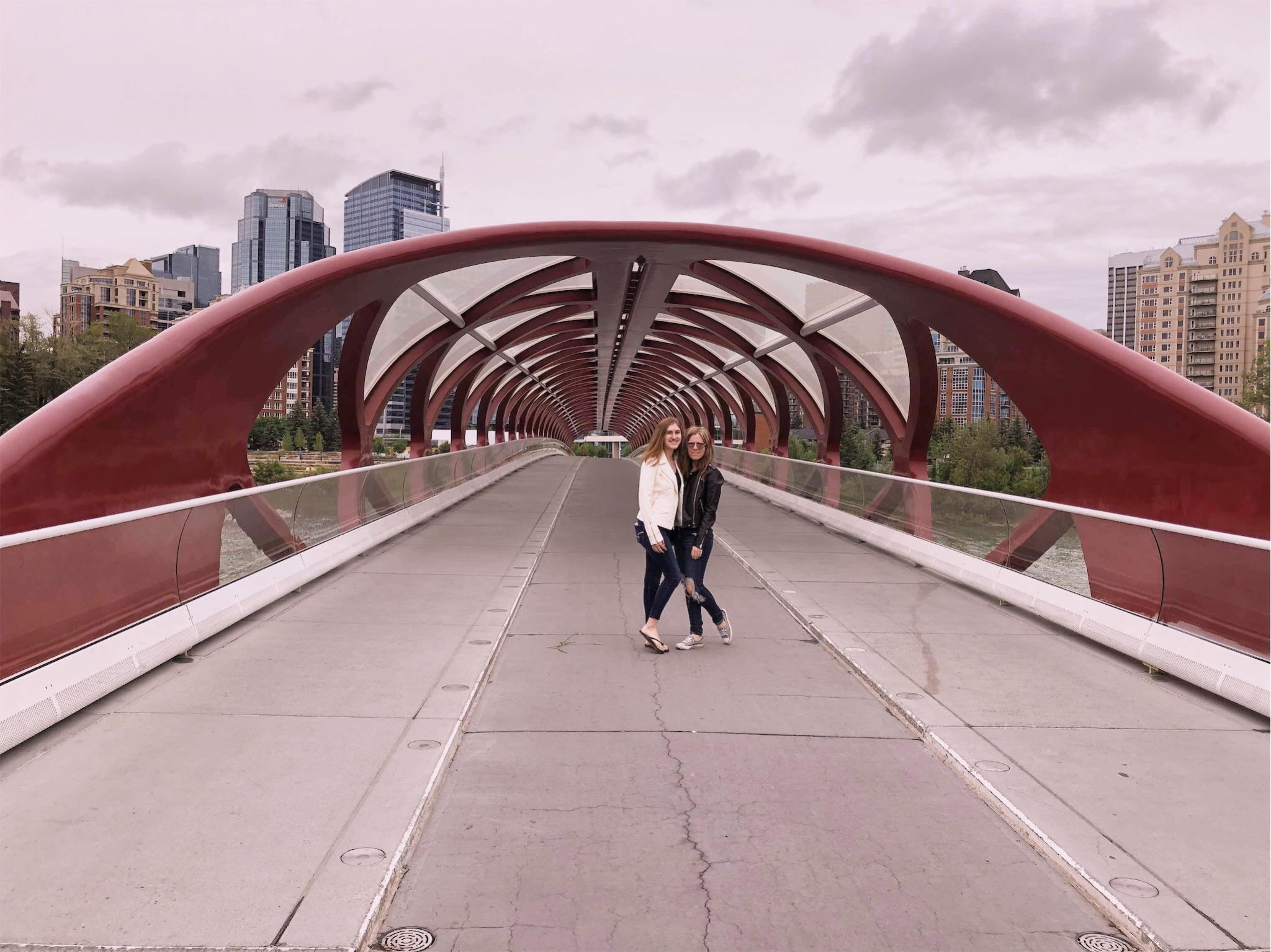 Ashlee and Kirsten on the Peace Bridge.jpg