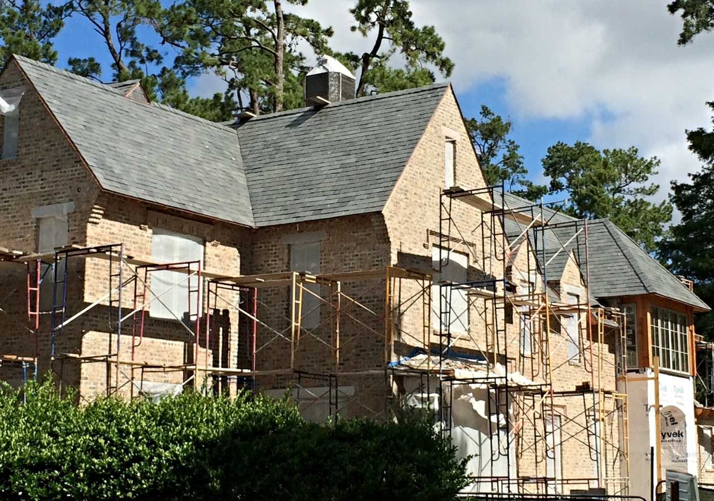 Natural Slate Roof Installation