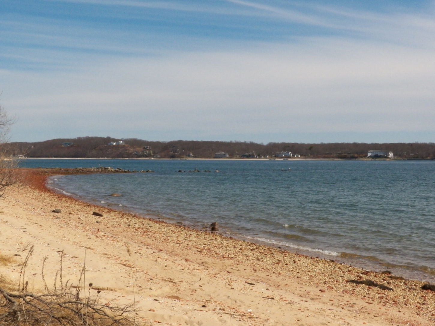 2 - Swim on our beach overlooking beautiful Shelter Island!