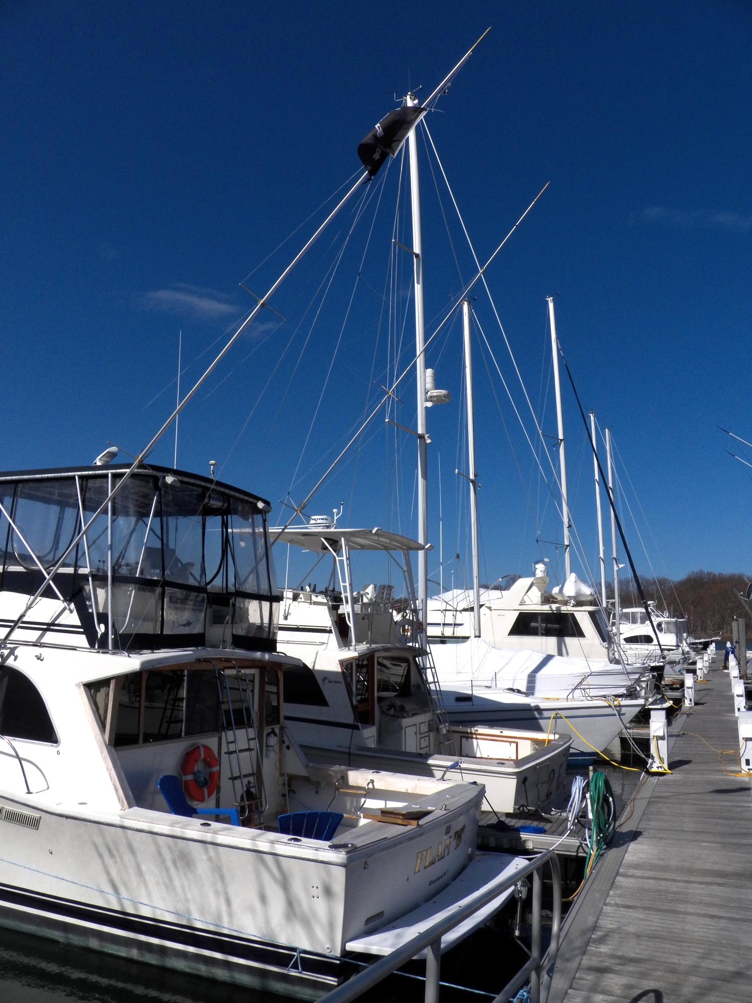 3 - All floating docks!