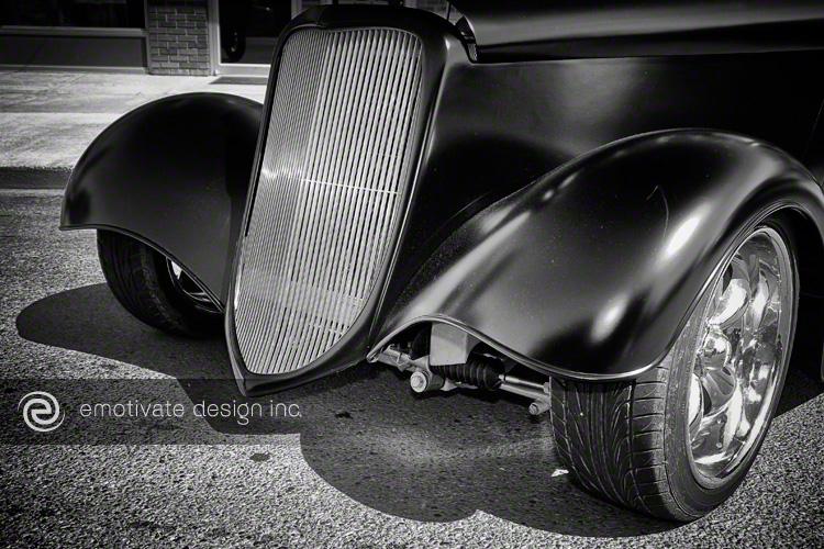 Black Hotrod