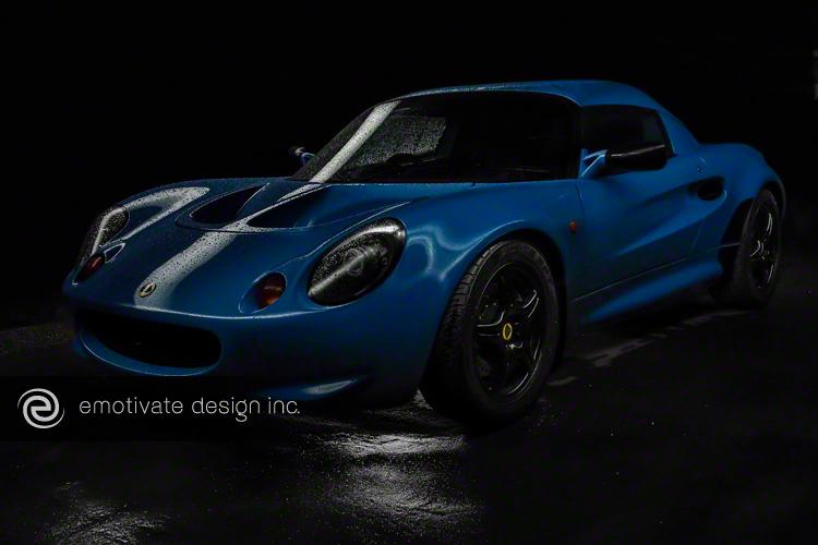 Hot Blue Elise V