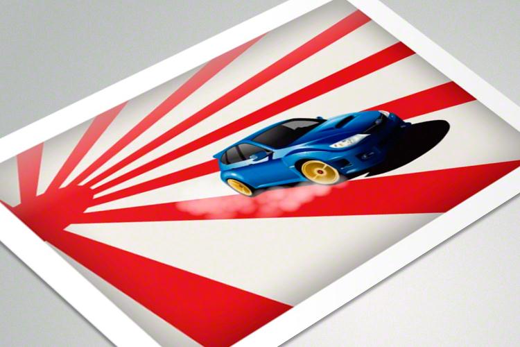 Monster Truckin - poster mockup