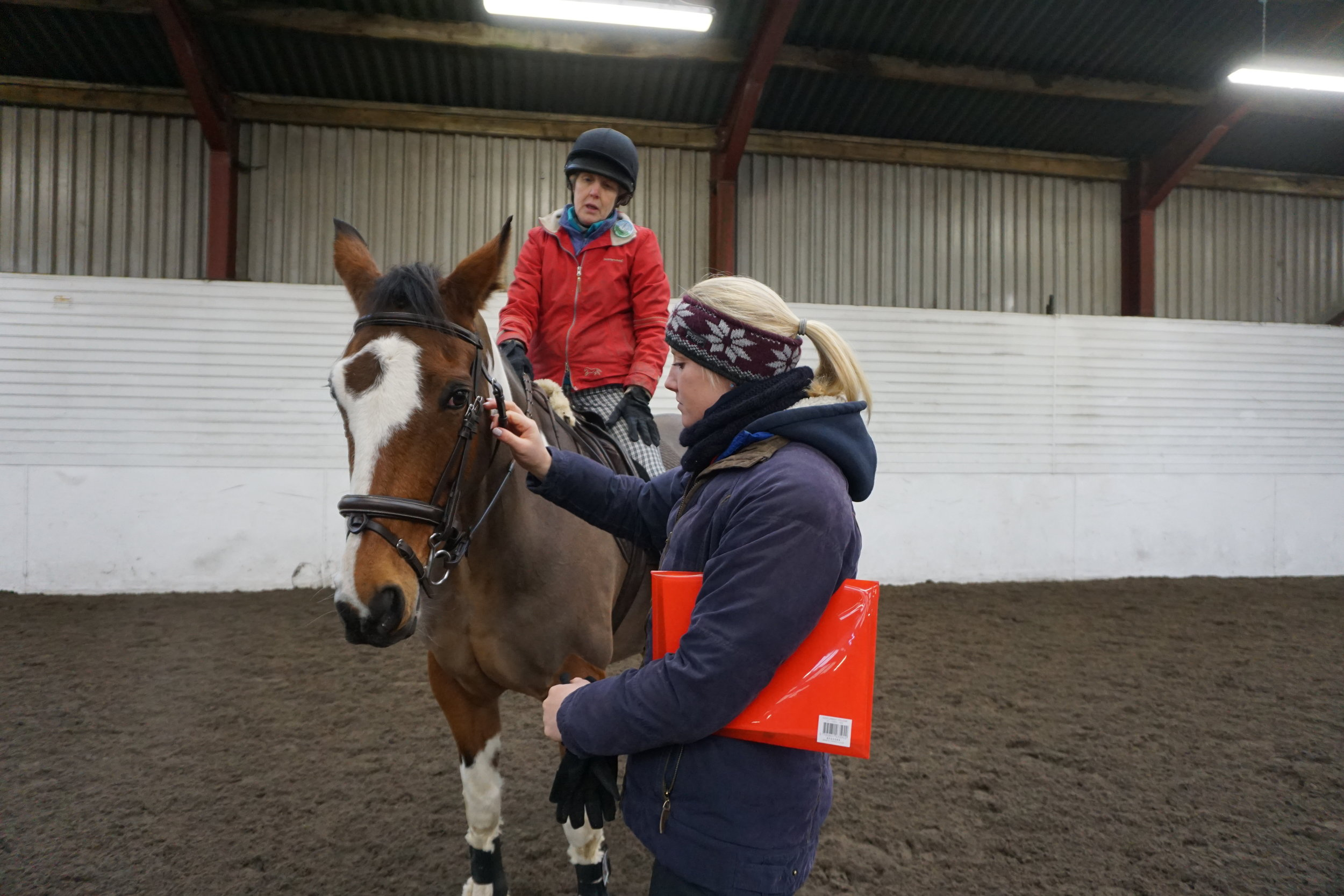 Getting a qualified professional to check your tack will help keep you and your horse safe.