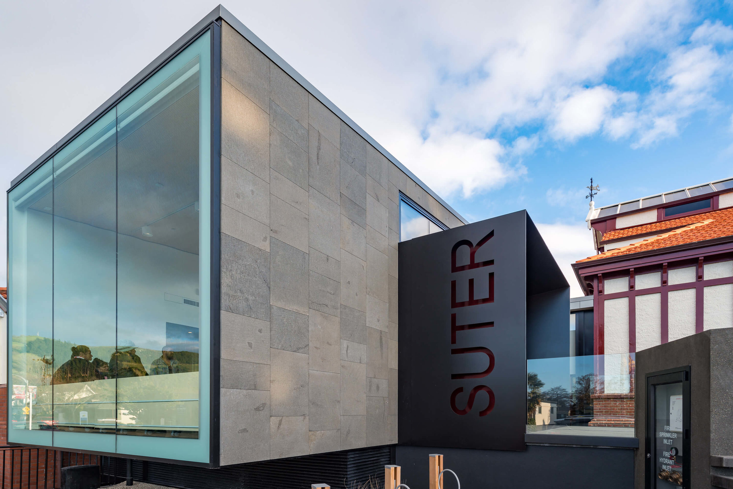 new entrance to The Suter in Nelson