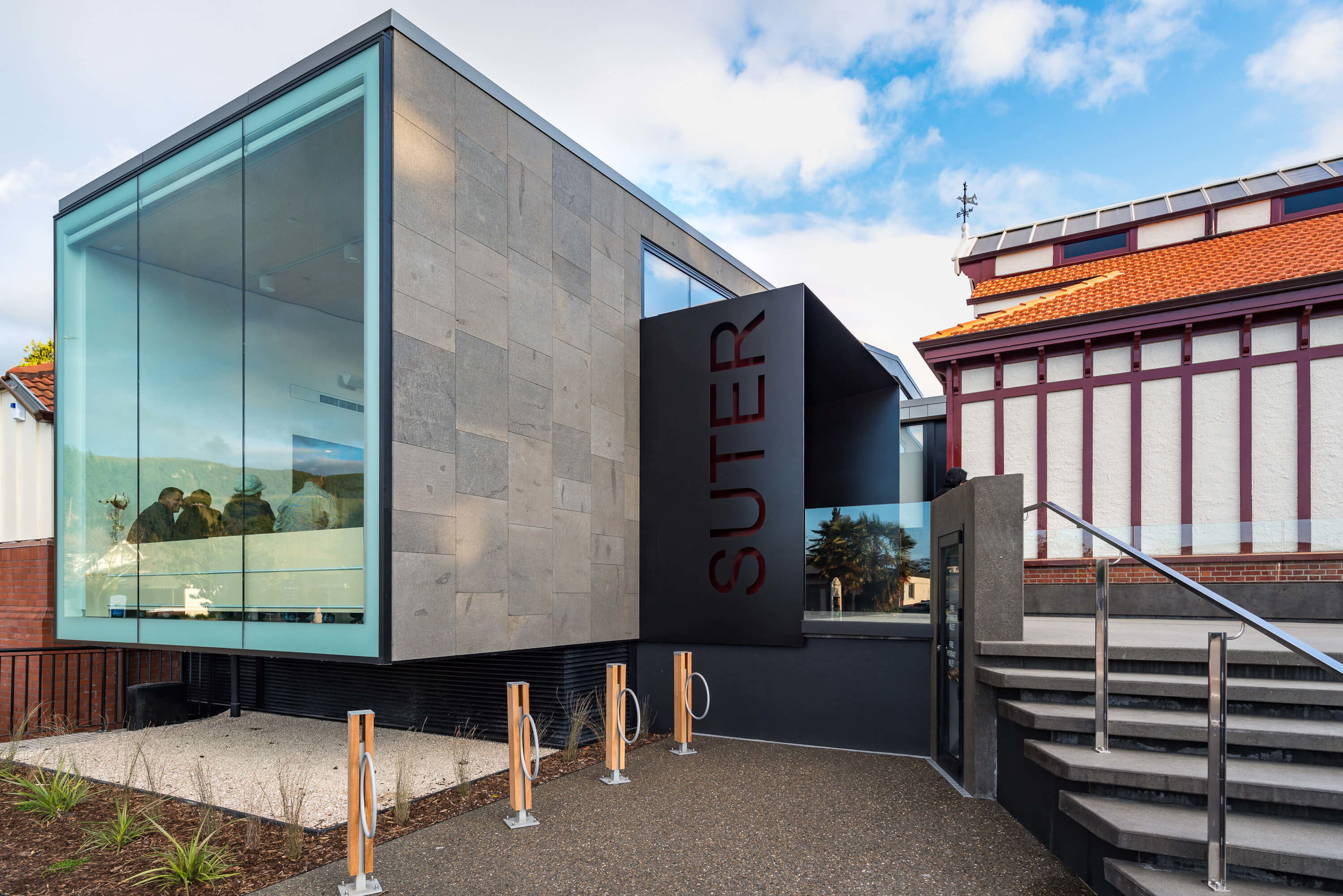Nelson's Suter art gallery entrance
