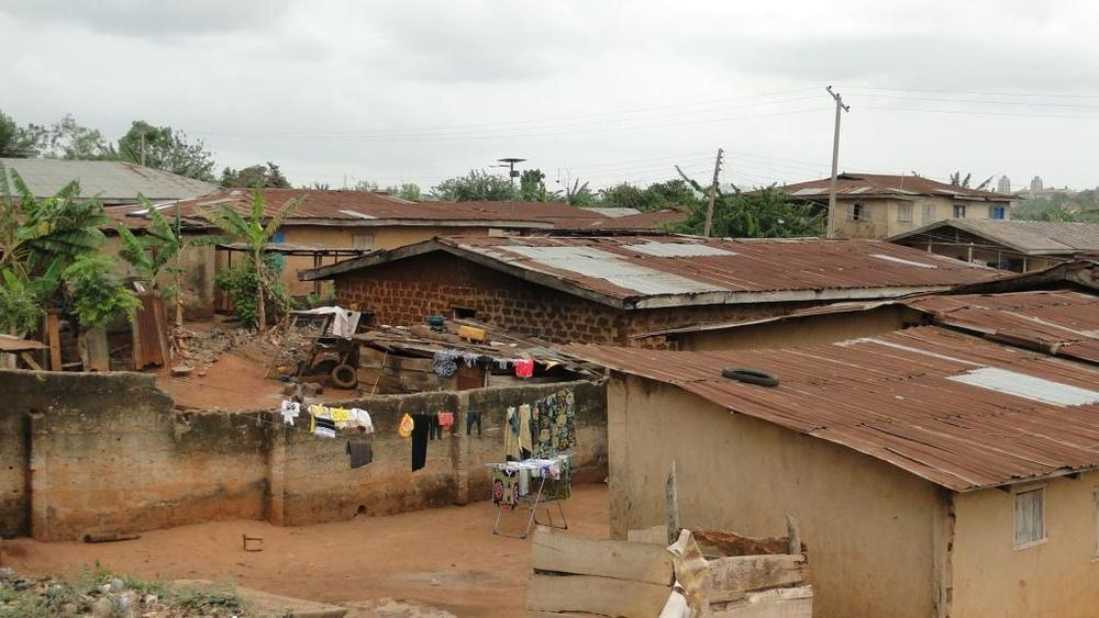 A view of homes in Ile-Ife. Photo Credit: Bamidele Bello.