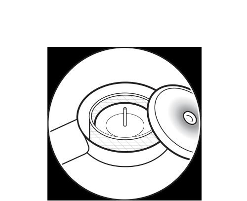 Step 2  Remove lid