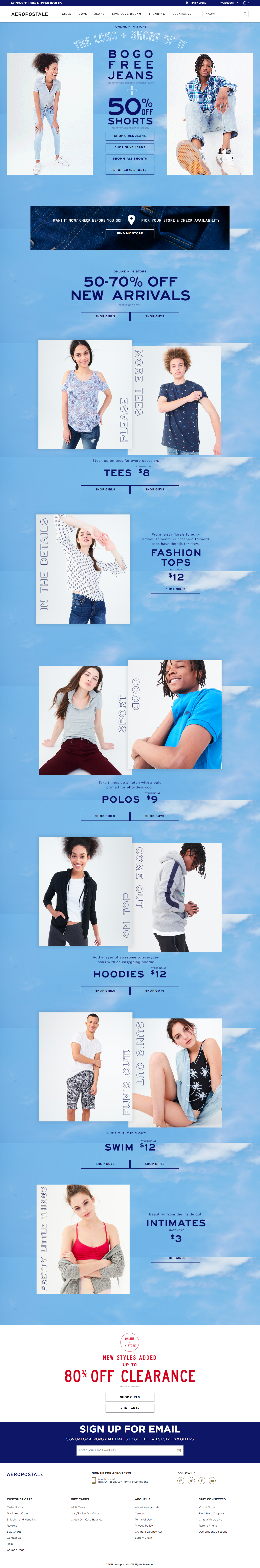 Aeropostale March 18 Homepage.png