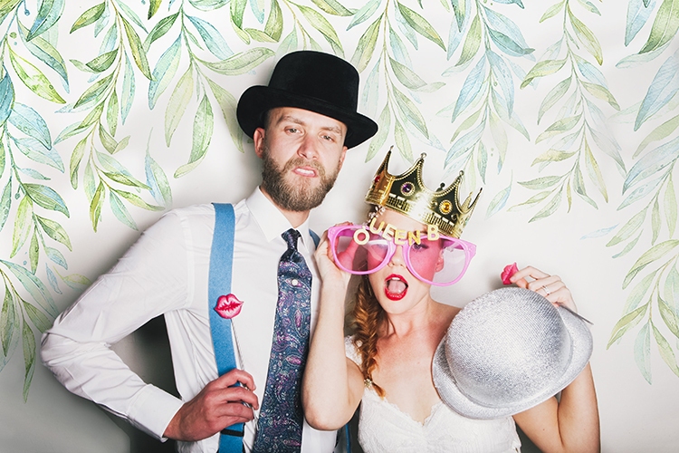 Photo Booth Backgrounds for Weddings