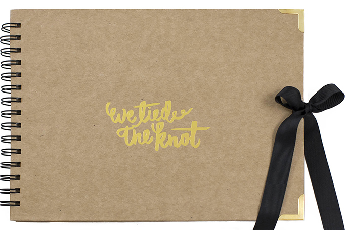 We-Tied-the-Knot-gold-craft-wedding-album-Modern-Photo-booth-guest-book-sydney-photobooth-hire-weddings..jpg
