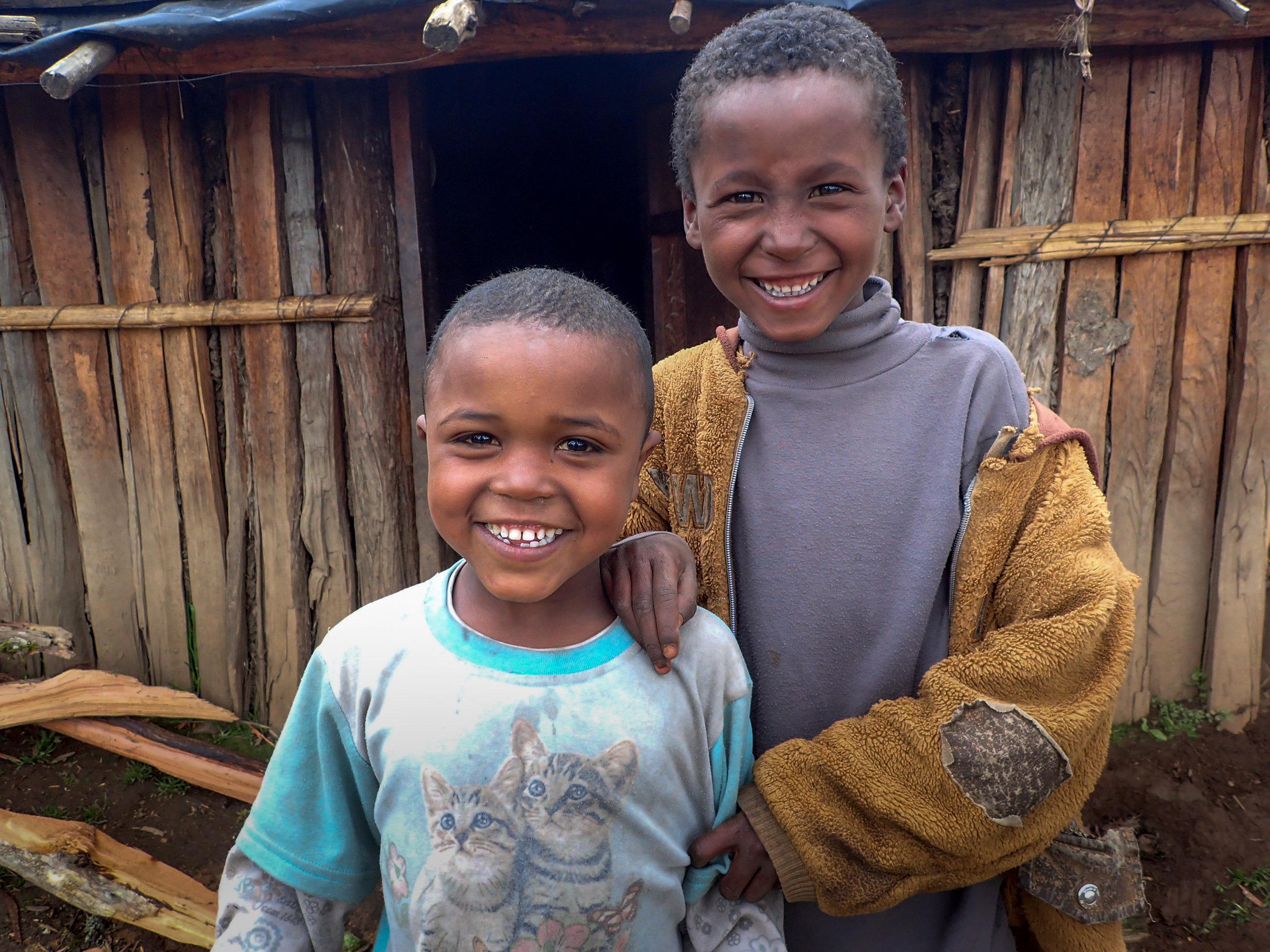 Children in Garamba