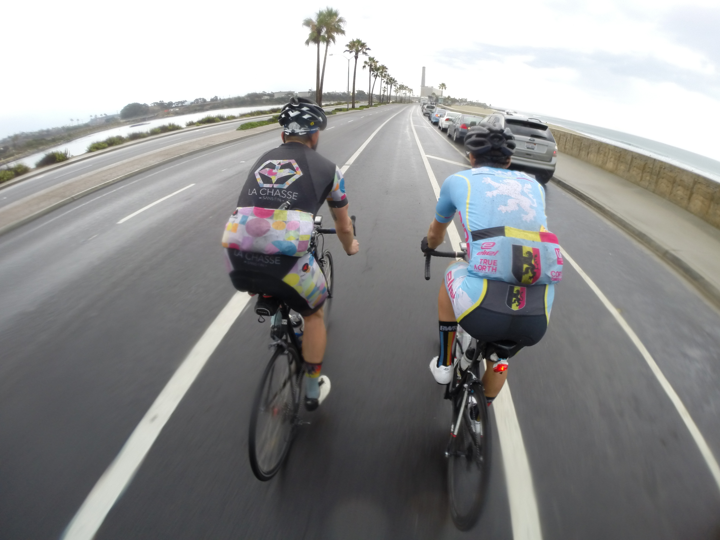 The home stretch through Carlsbad was such a relief.
