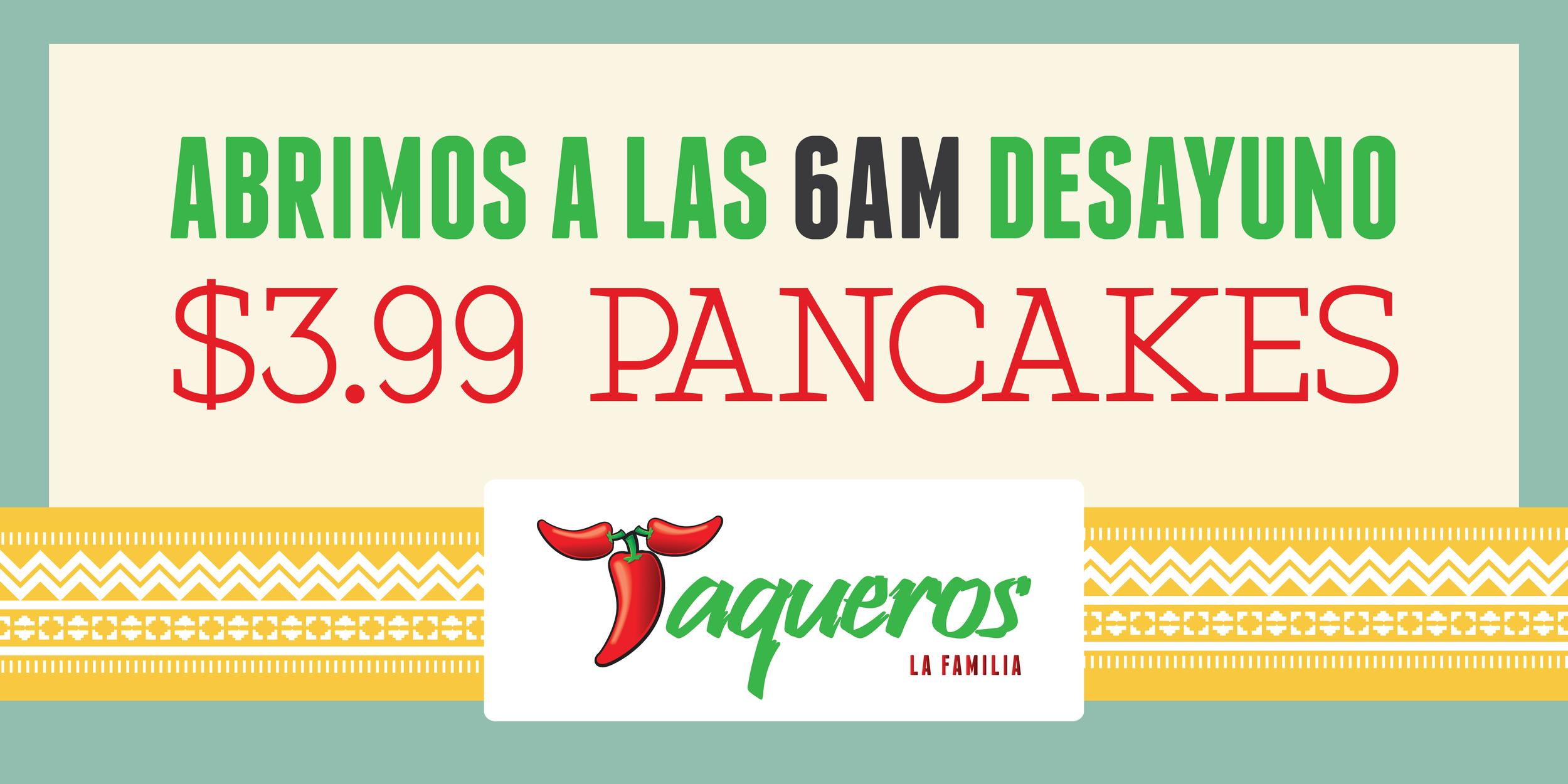 Jason Khoo - Taqueros Mexican Restaurant Banner