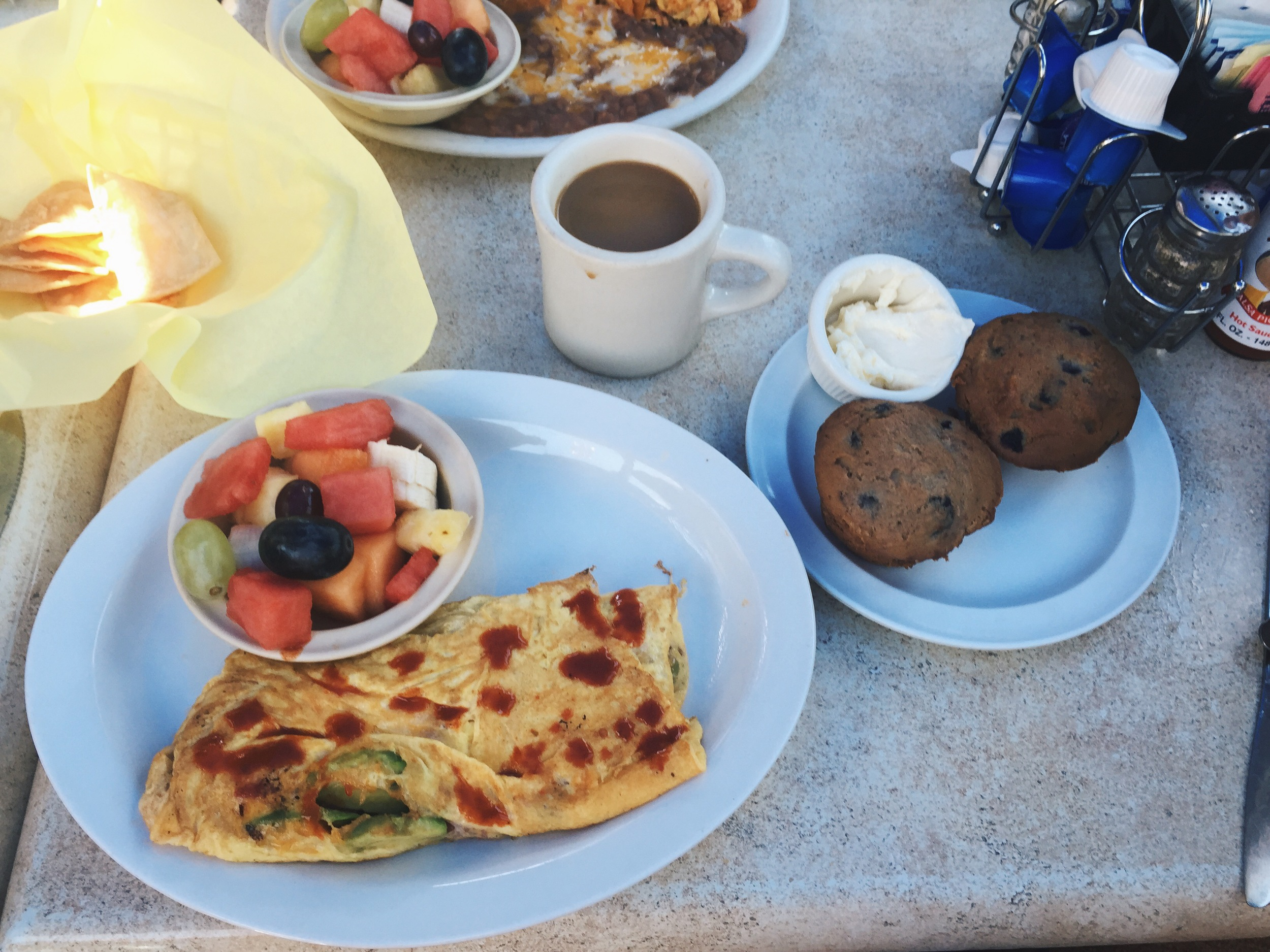 la playita - my favourite breakfast spot in hermosa beach, CA