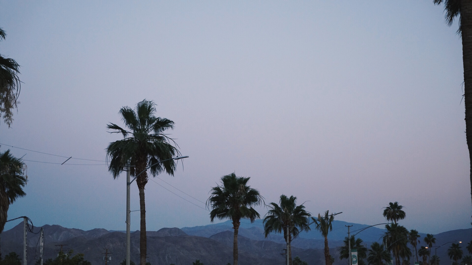 the desert sky at sunset is one of my favourite things.