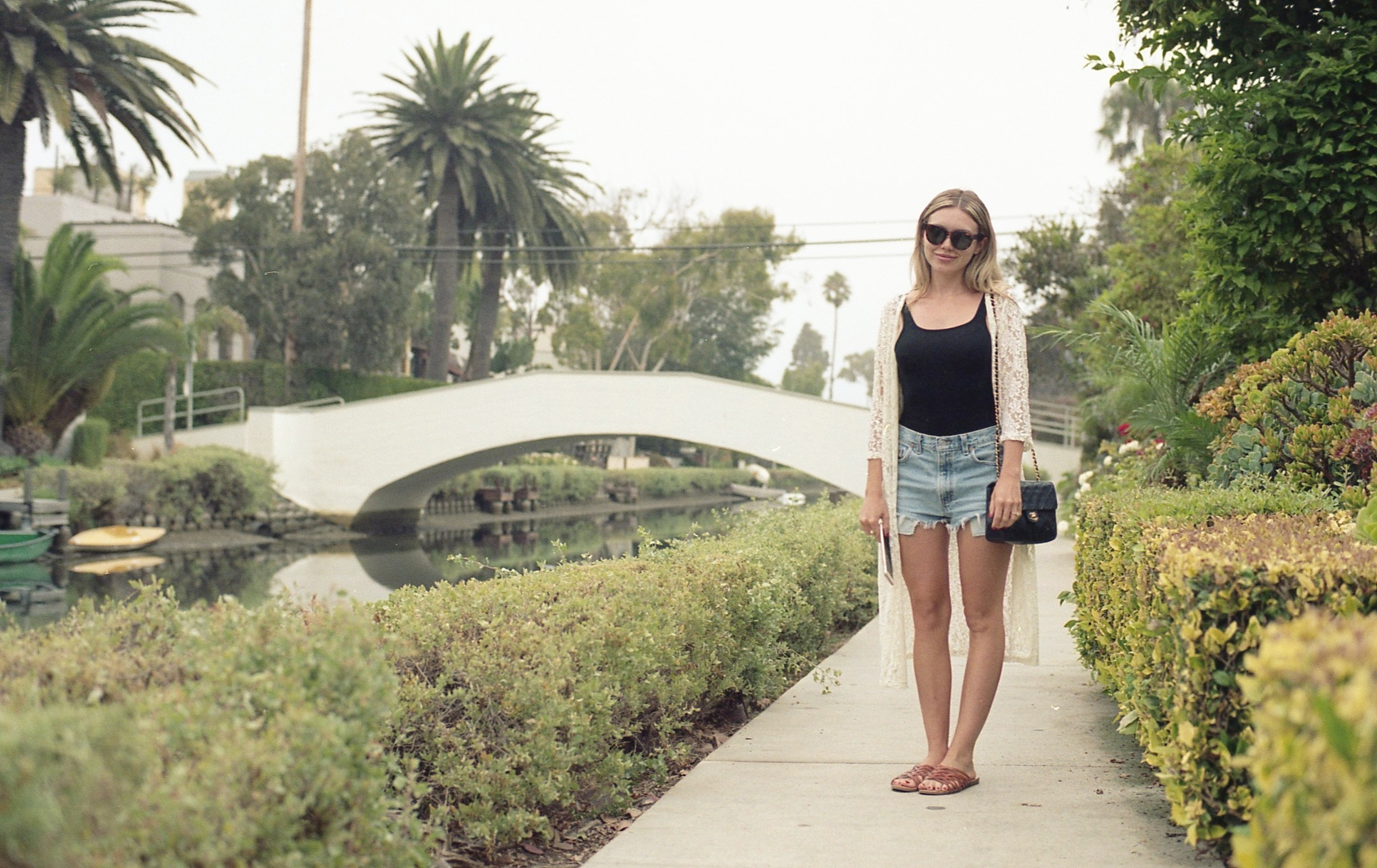 The Venice Beach Canals