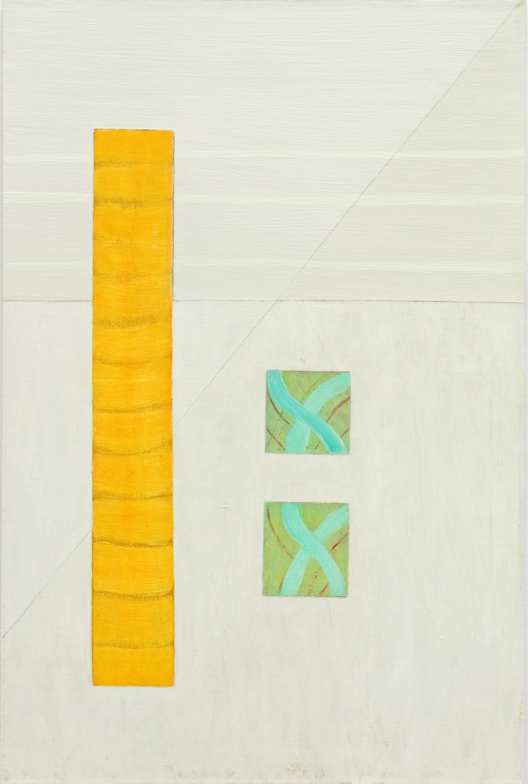 Yellow Bar  24 x 36