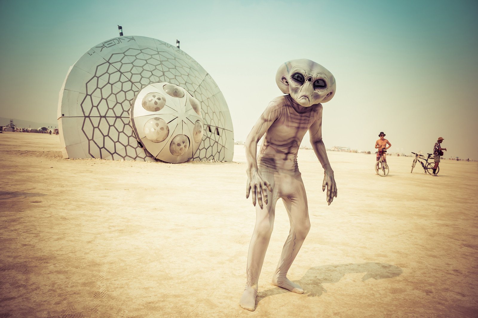 'Crash Site Alpha - 13' - Black Rock City, 2013 - Artist: Aphidoidea Collective - Photo: Trey Ratcliff