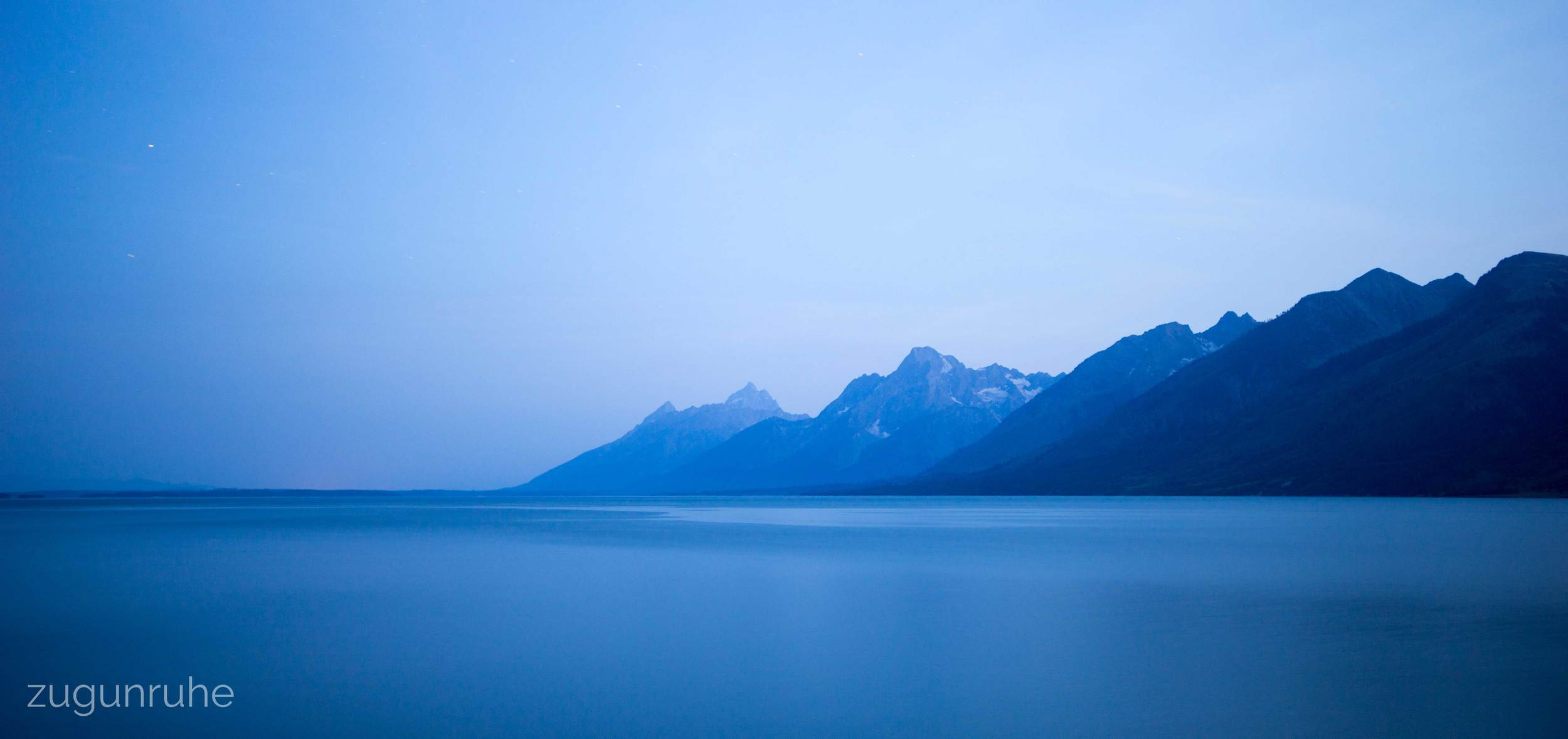Midnight // Grand Tetons National Park 8/02