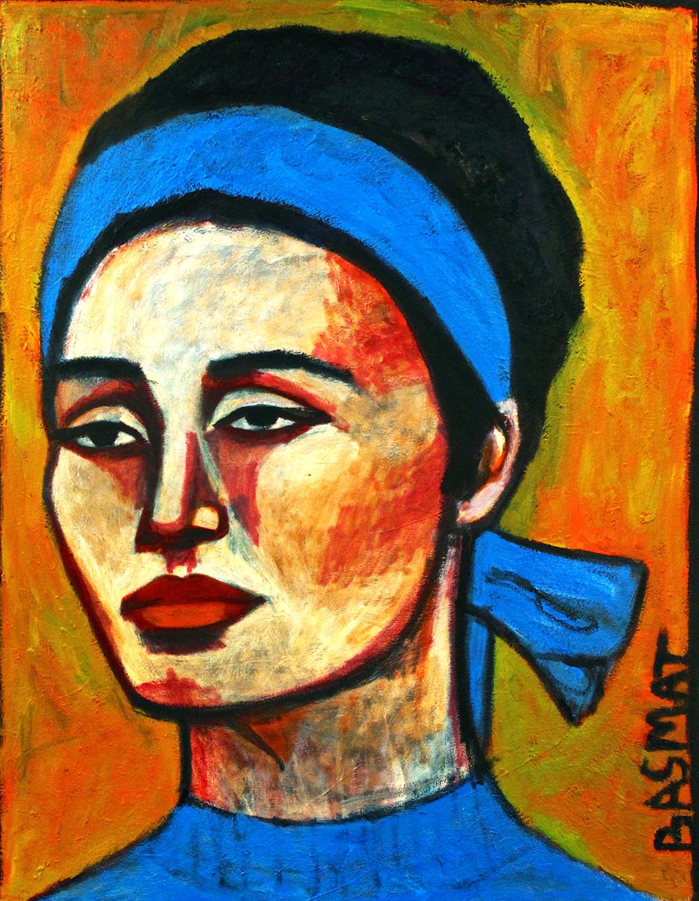 Sophie   -  158cm x 122cm,Oil on Canvas