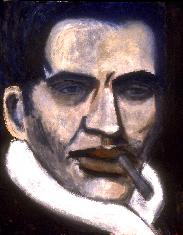 Alain   -  152cm x 121cm,Oil on Canvas