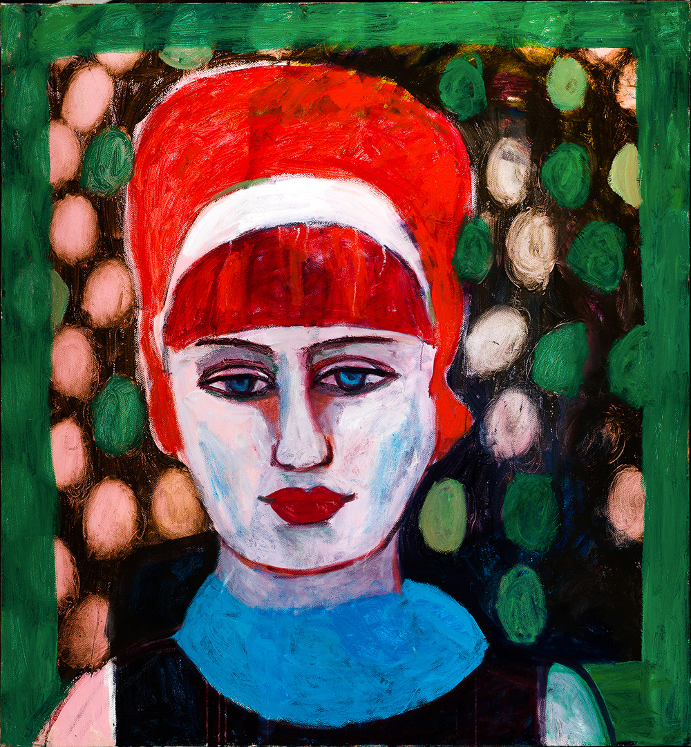 Tamar  -  110cm x 95cm,Oil on Canvas