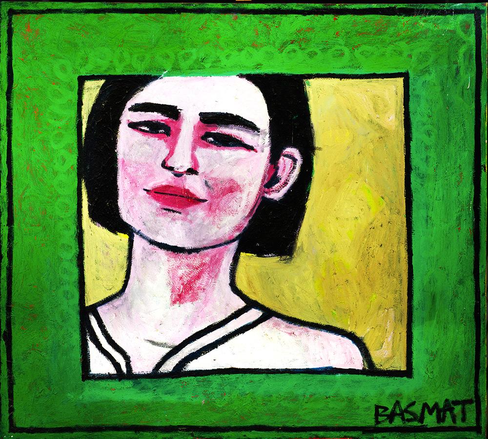 Green Window   -  150cm x 135cm,Oil on Canvas