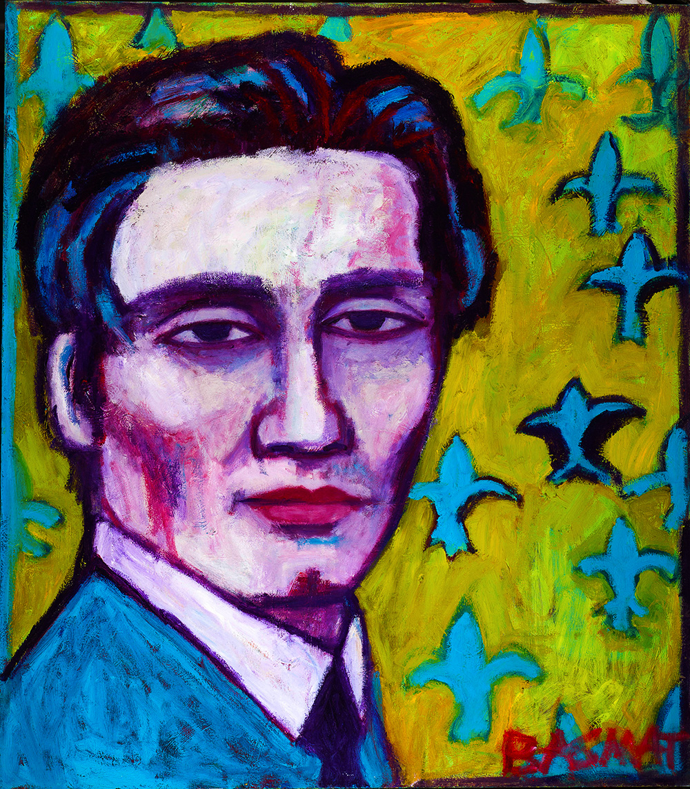 Philip   -  130cm x 120cm,Oil on Canvas