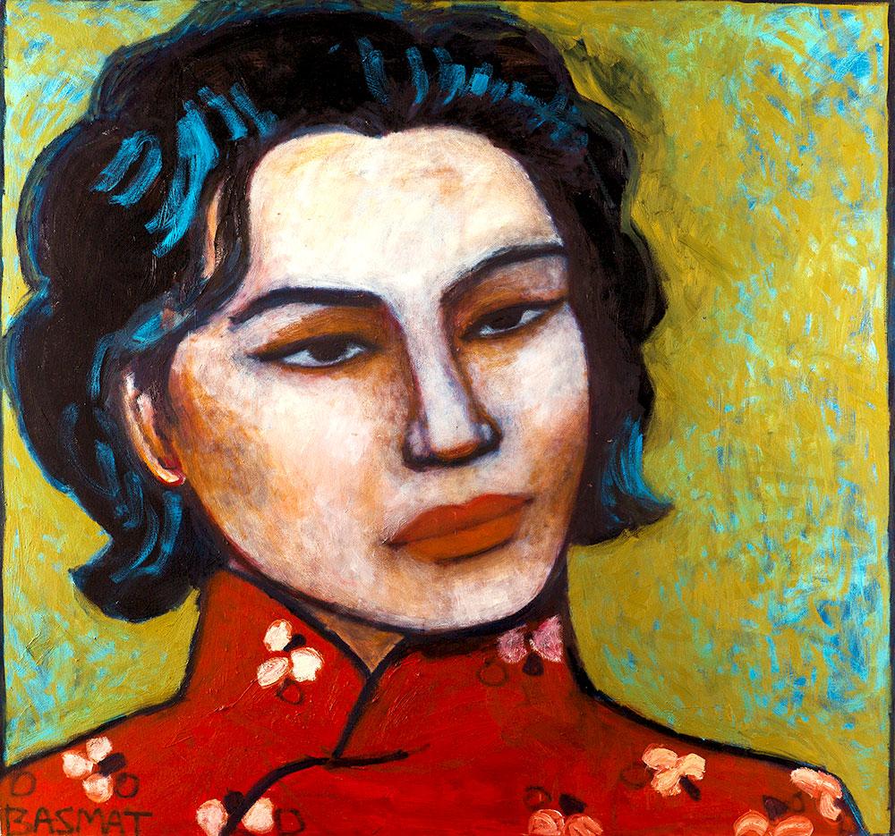 Coco  -  170cm x 160cm,Oil on Canvas