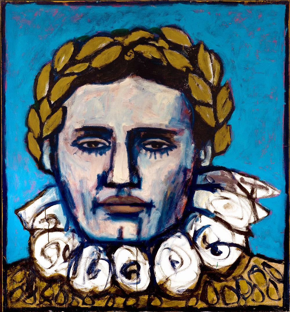 Cesar  -  130cm x 120cm,Oil on Canvas