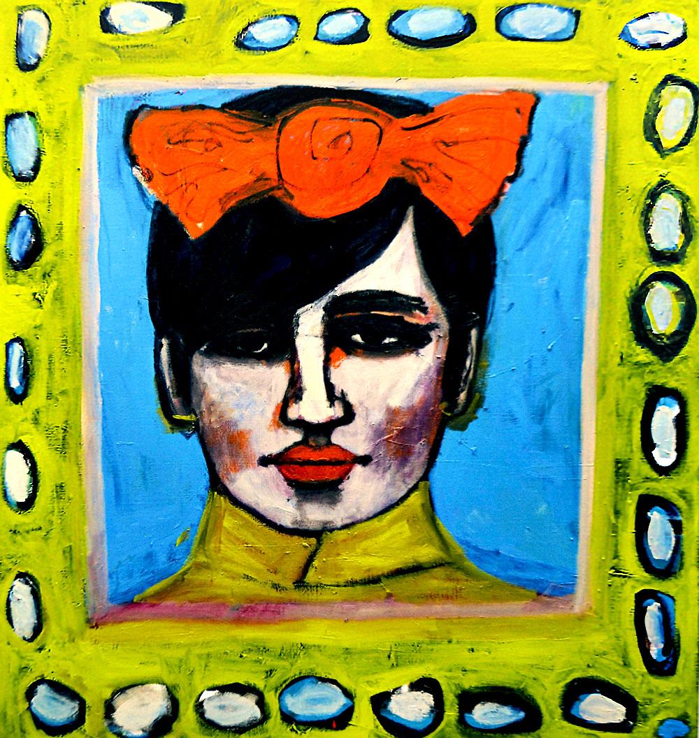 Daria  -  180cm x 155cm,Oil on Canvas