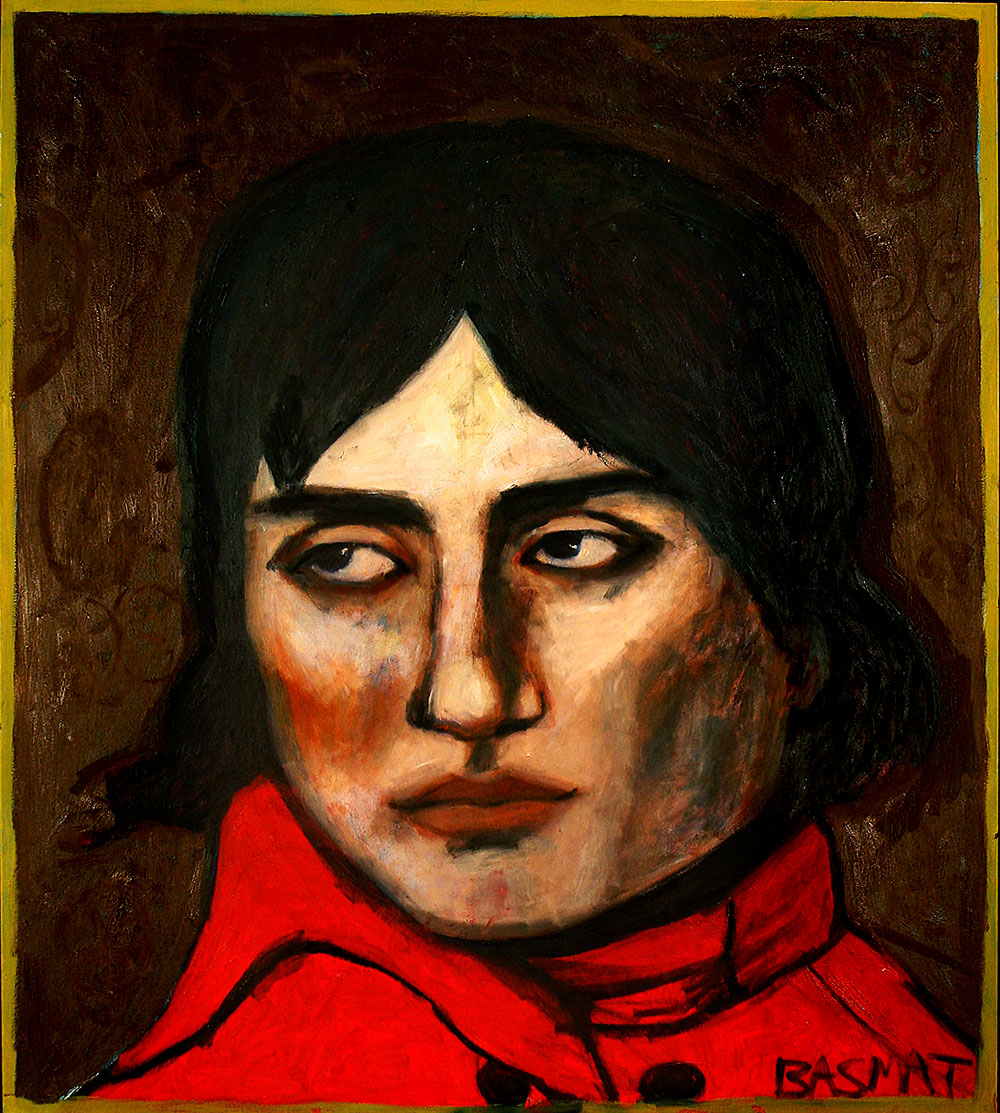Napolion   -  182cm x 163cm,Oil on Canvas