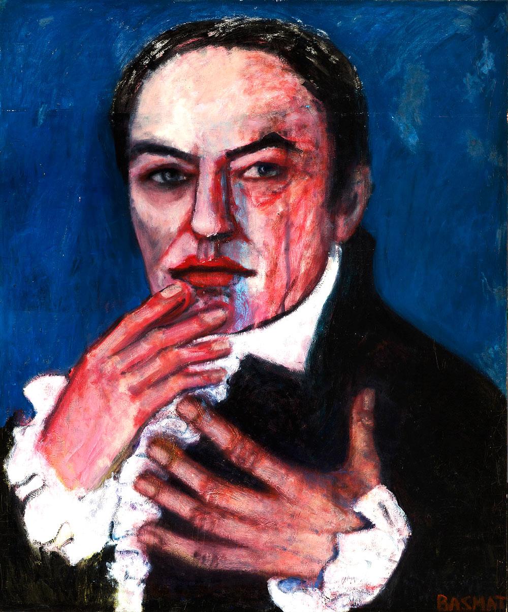Vincent  -  183cm x 152cm,Oil on Canvas