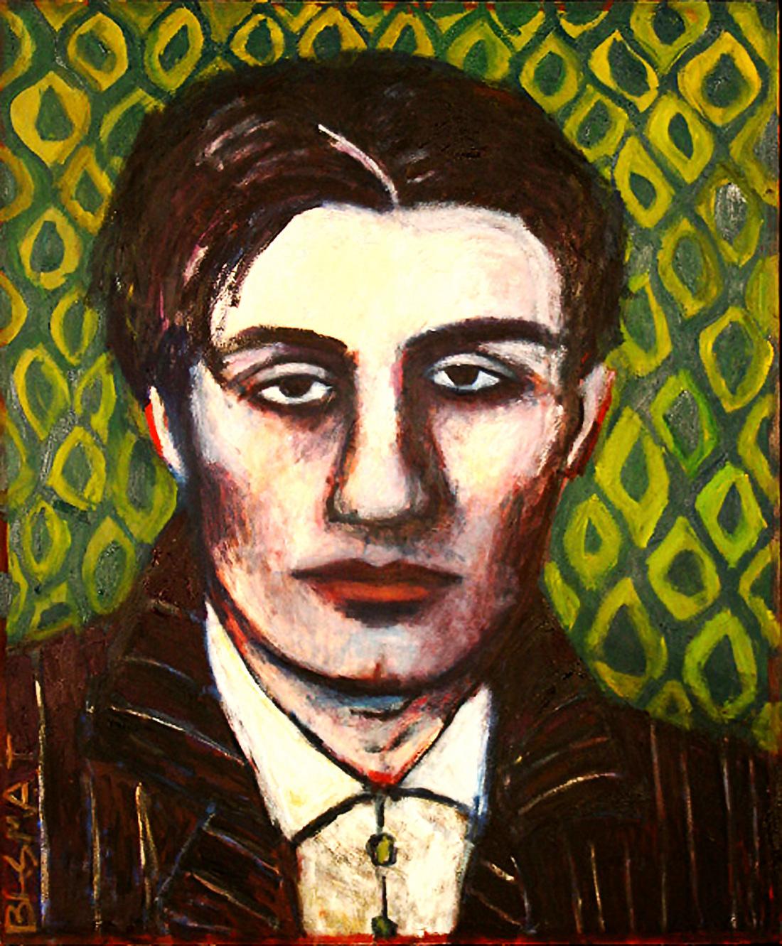 Pablo   -  153cm x 127cm,Oil on Canvas
